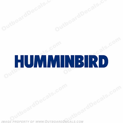 Humminbird Boat Electronics Logo Decal - Any Color!