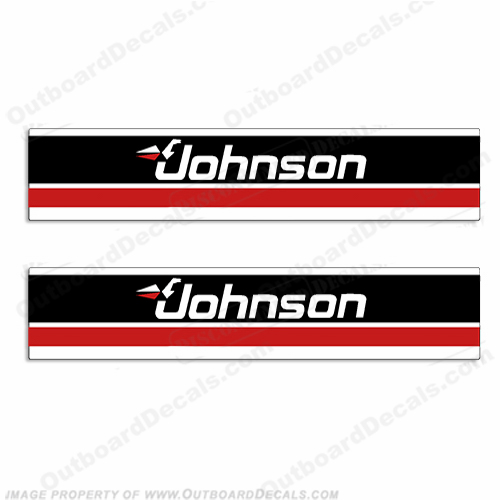Johnson Electric Trolling Motor Decals - 1995