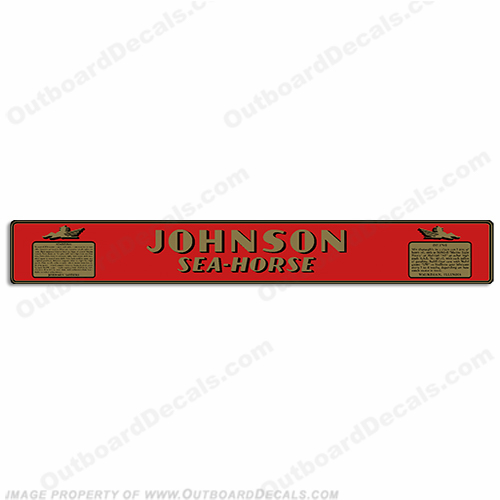 Johnson 1941 9.8hp Decals