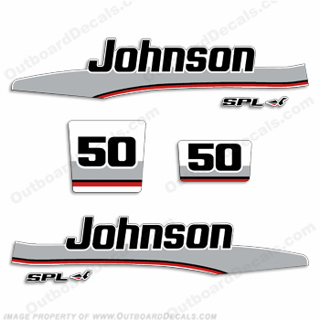 Johnson 1998 50hp Decal Kit