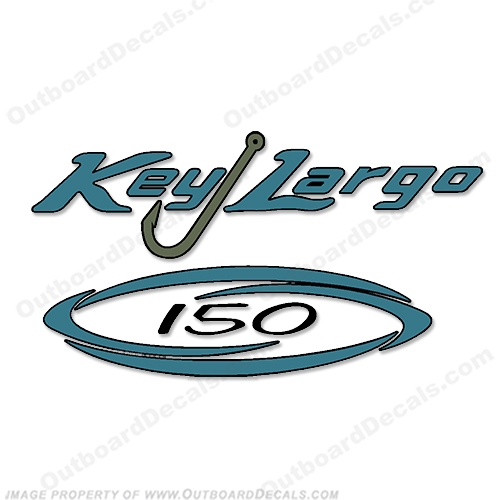 Key Largo 150 Bay Boat Decal