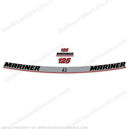 Mariner 125hp Decal Kit