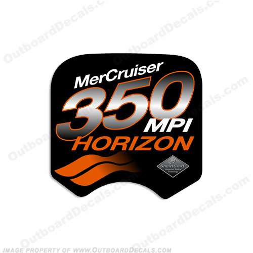 Mercruiser 350 MPi Horizon Decal