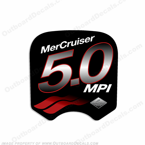 Mercruiser 5.0 MPi Decal