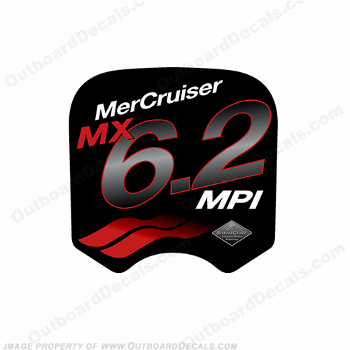 Mercruiser MX 6.2 MPi Decal
