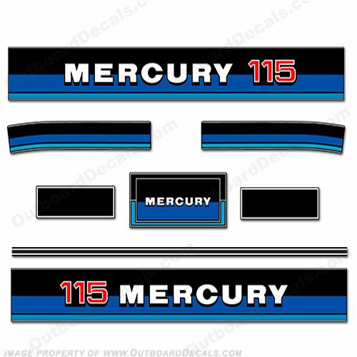 1983 mercury 115 Hp Manual