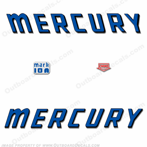Mercury 1959 Mark 10A Decals