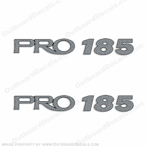 ProCraft Pro 185 Decals - Set of 2