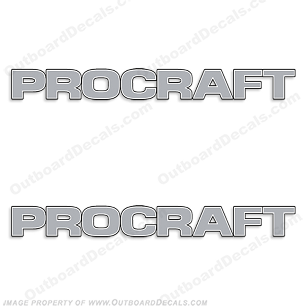 Pro Craft Logo Decals  procraft