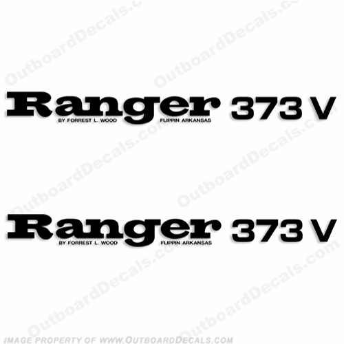 Ranger 373V Decals (Set of 2) - Any Color!
