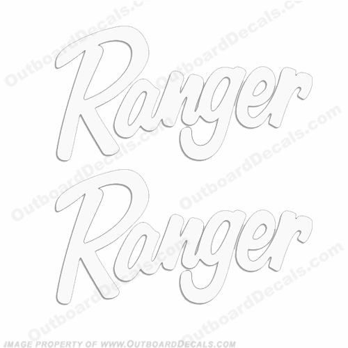 Ranger Windshield Decals - Any Color! (Set of 2)