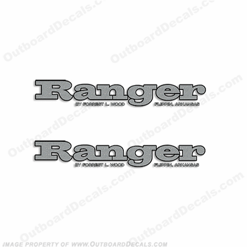 Ranger R71 Decals (Set of 2) ranger, r, 93, 83, 91, boat, logo, marking, tag, model, sport, decals,decal, sticker, stickers, kit, set