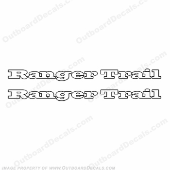 Ranger Trail Logo Decals - Any Color!