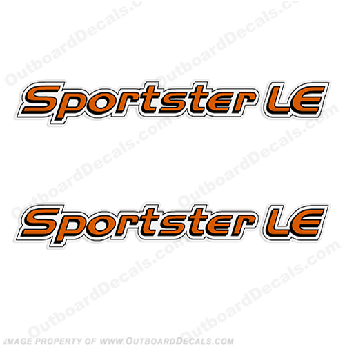Sea-Doo Sportster LE Jet Boat Decals sea doo