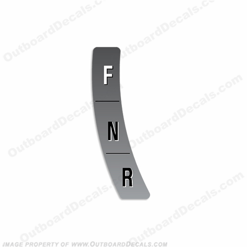 "Sea-Doo ""Forward, Neutral, Reverse"" Decal"