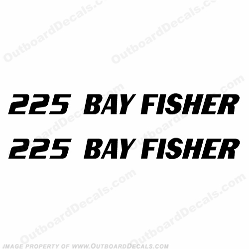 Sea Fox 225 Bay Fisher Boat Decals - Any Color!
