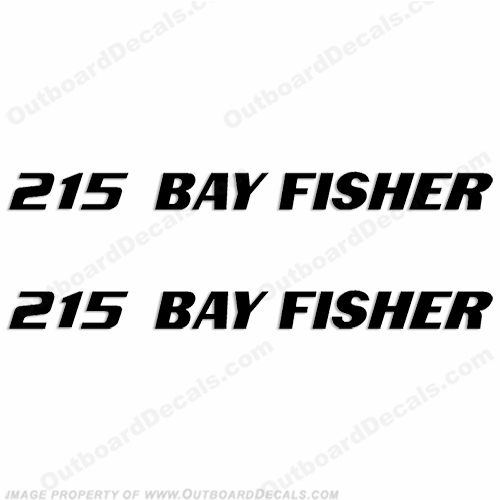 Sea Fox 215 Bay Fisher Boat Decals - Any Color!