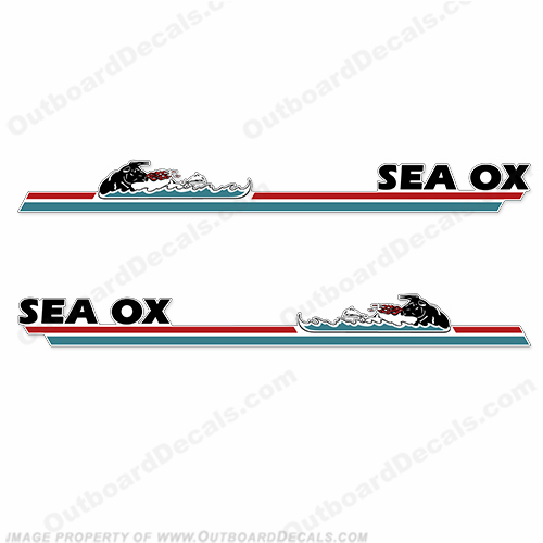 Sea Ox Boat Decals