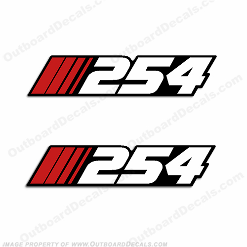 "Stratos ""254"" Decal (Set of 2)"