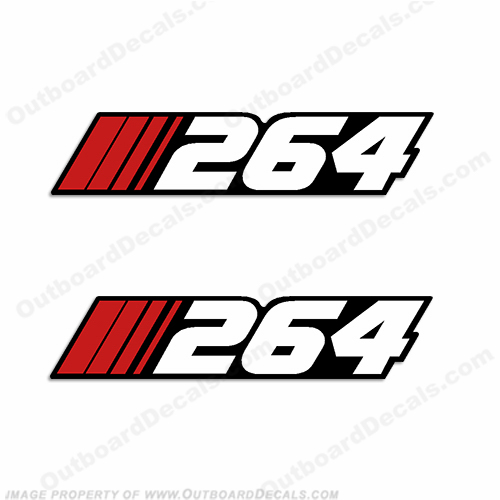 "Stratos ""264"" Decal (Set of 2)"