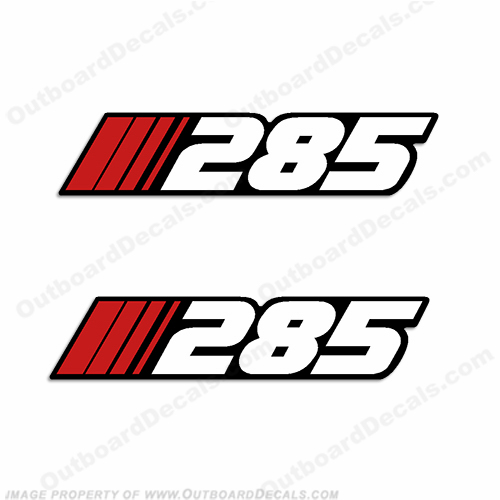 "Stratos ""285"" Decal (Set of 2)"