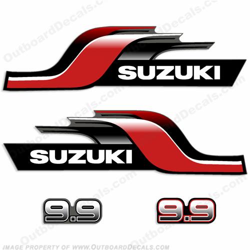 Suzuki Dt9 9 9 9hp Decal Kit 1998