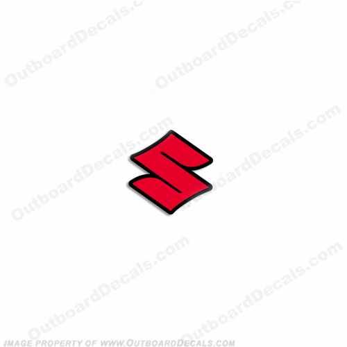 "Suzuki Single ""S"" Decal"