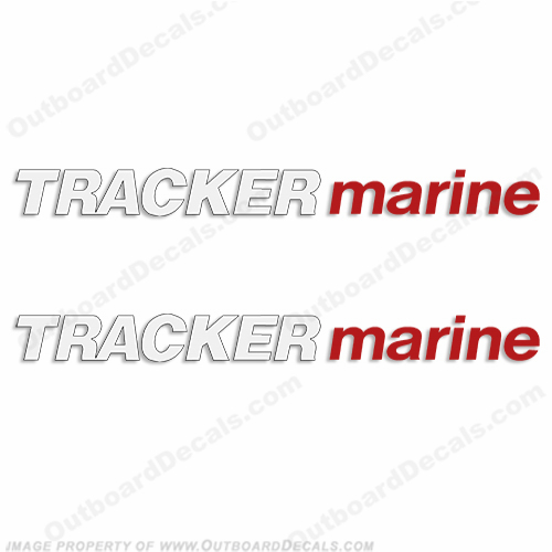 Tracker Marine Trailer Decals (Set of 2)
