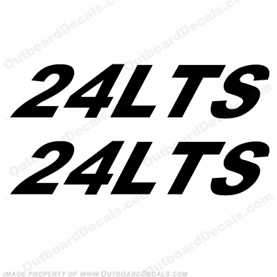 Triton Boats Decals - 24LTS