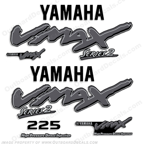 Yamaha Decals on