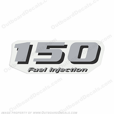 "Yamaha Single ""150 Fuel Injection"" Decal - Rear"