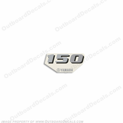 Yamaha Single 150hp Front Decal - 2013+ Style